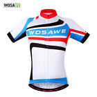 Bike Riding Men Jersey Cycling Shirt Road Bicycle Short Sleeve Top Wear QuickDry