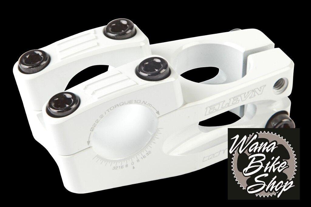 Elevn BMX Stem Threadless 1  35mm Top Load - White