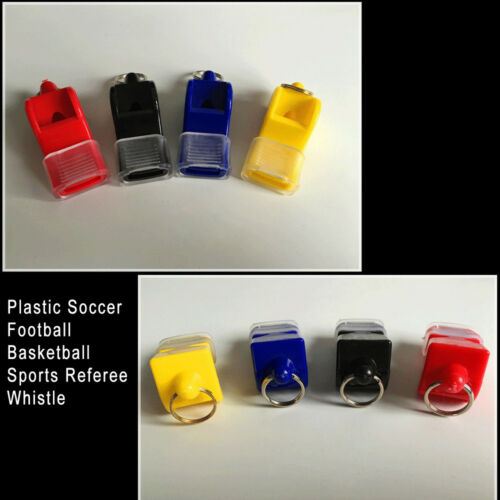 1*Sports Referee Whistle Manmade Plastic EDC fox40 Soccer Football Basketball