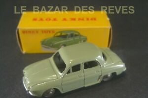DINKY TOYS FRANCE.RENAULT DAUPHINE. REF: 24 E. + Boite.