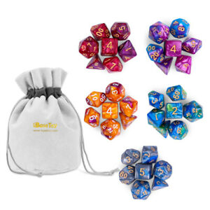 35pcs-Set-Polyhedral-Dice-for-DND-RPG-MTG-Game-Dungeons-amp-Dragons-D4-D20-Colors