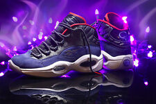 Reebok Question Mid 8 Allen Iverson Purple The Answer men shaq attack pump