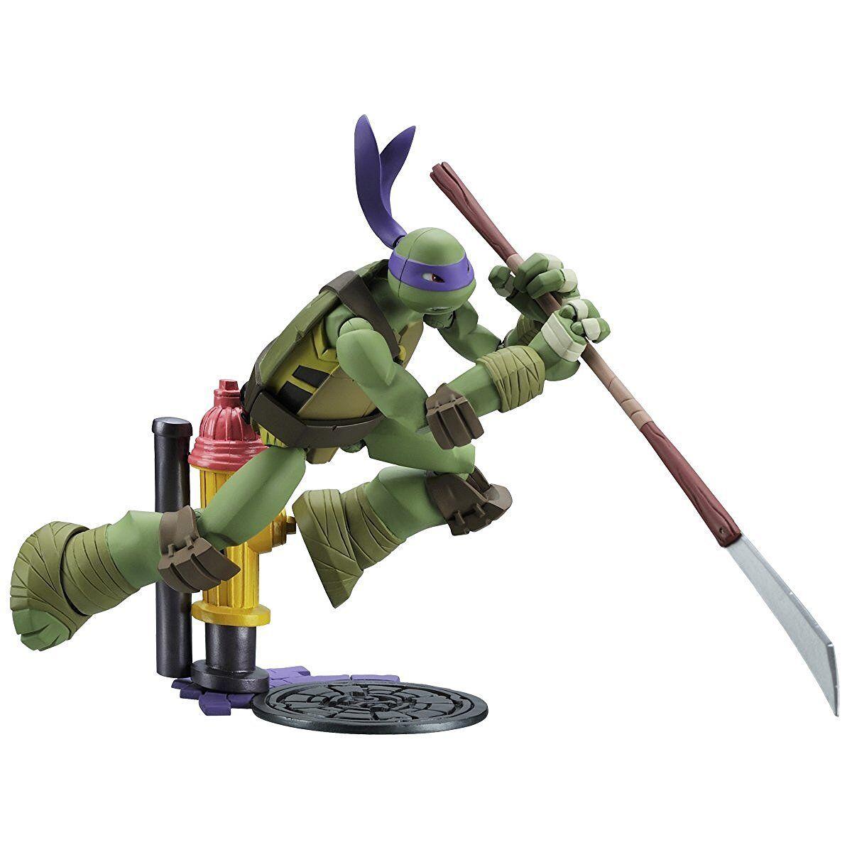 REVOLTECH Mutant Ninja Turtles Donatello FIGURINE KAIYODO