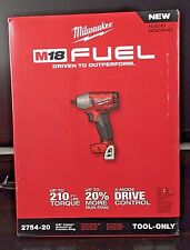 "Milwaukee 2754-20 M18 FUEL 3/8"" Compact Impact Wrench w/ Friction Ring-Tool Only"
