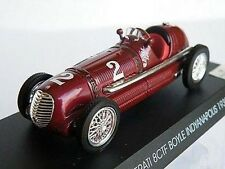 MASERATI 8CTF 1939 BOYLE CAR 1/43 SIZE NO2 DRIVER NO VERSION MINT PACK R0154X{:}