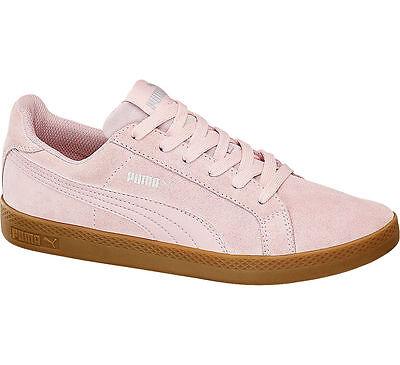 Deichmann Puma Sneaker SMASH SUEDE rosa Neu