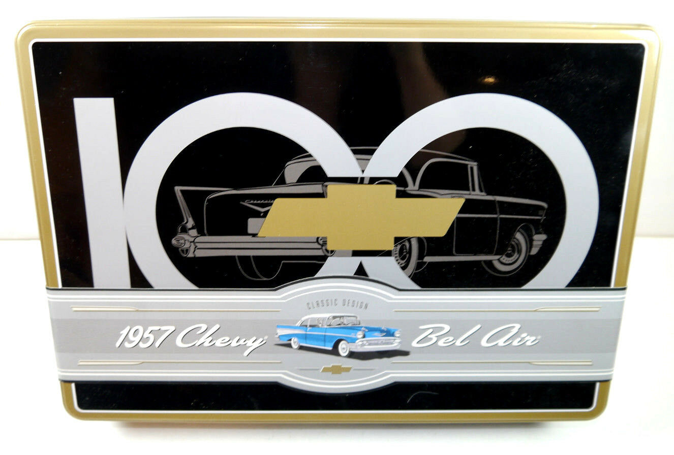 Amt 100 Years of Chevrolet 1957 Chevy Bel Air Plastic Model Building Set 1 25
