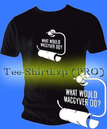 T SHIRT HUMOUR SERIE MAC GYVER Drole Blague macgyver tee shirt cadeau  S au XXL