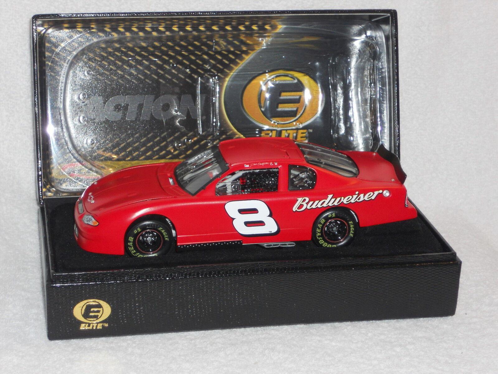 Dale Earnhardt Jr RCCA Action   Elite 1 24 2002 Budweiser Test Car 1 5004