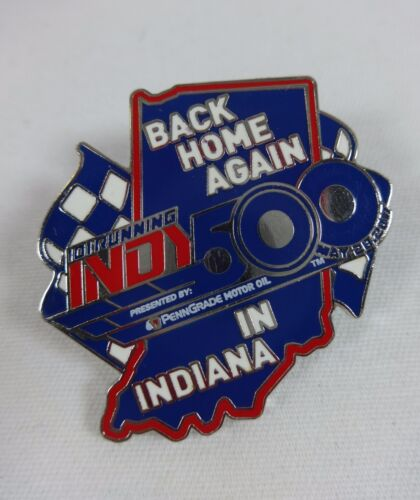 2017 Indianapolis 500 101ST Back Home Again Indiana Event Collector Lapel Pin