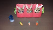LPS Littlest Pet Shop Petriplets Baby Bunnies # 1332 #1333 #1334 complete