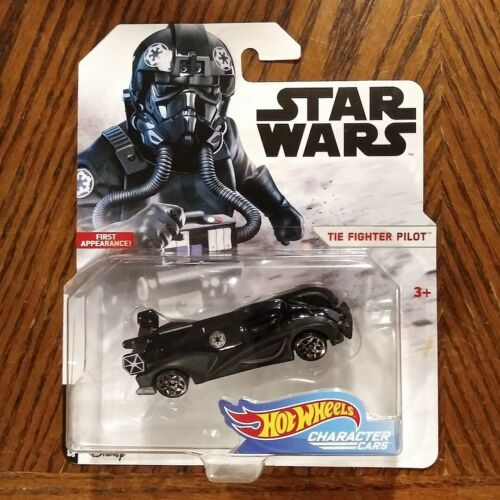 Tie Fighter Pilot Star Wars Character Cars 2019 Hot Wheels