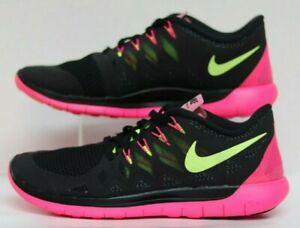 e7ff11f51a46 WMNS Nike Free 5.0 Black Violet-Hyper Pink-Anthracite 642199-002 ...