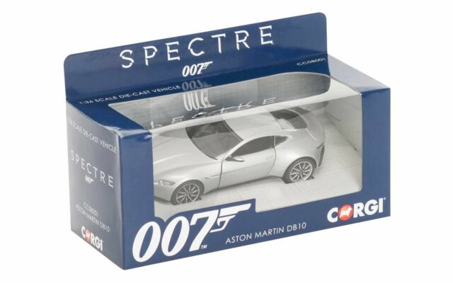Corgi James Bond Aston Martin DB10 Spectre 1:36 Die-cast Model - CC08001