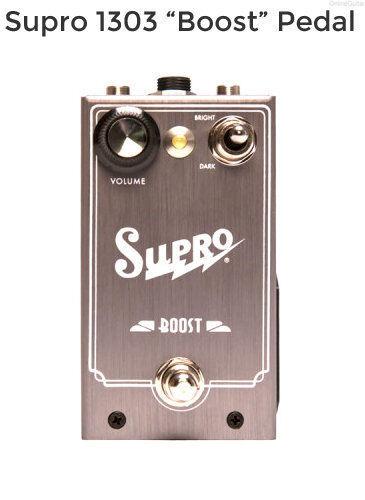 Nuevo Pedal de de de Efectos Guitarra Supro Boost recuerdo con Cable Gratis Envío Gratis en EE. UU. 238893