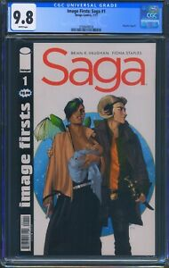 Image-Firsts-Saga-1-Image-CGC-9-8-White-Pages-Reprint-of-Saga-1