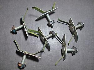 NORS body side fender belt moulding clips nuts sealer 1-1//4 to 1-1//2 for Ford