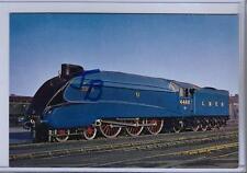4468 Mallard Trainspotting A4 LNER Steam Train Blank Birthday Fathers Day Card