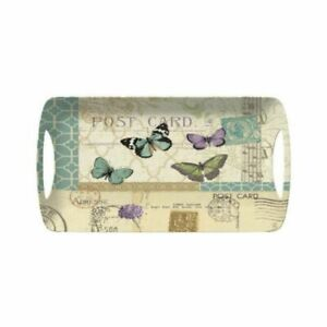 Creativetops-Tablett-Butterfly-PostCard-Serviertablett-Schmetterling-Dekotablett