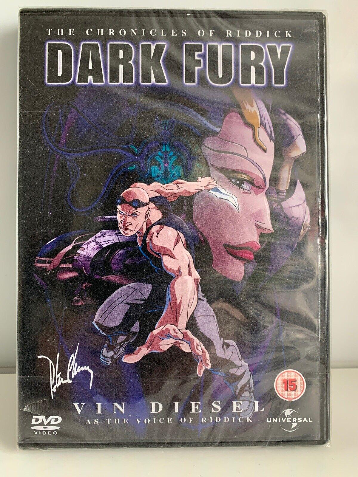 The Chronicles Of Riddick - Dark Fury (DVD, 2007) for sale online