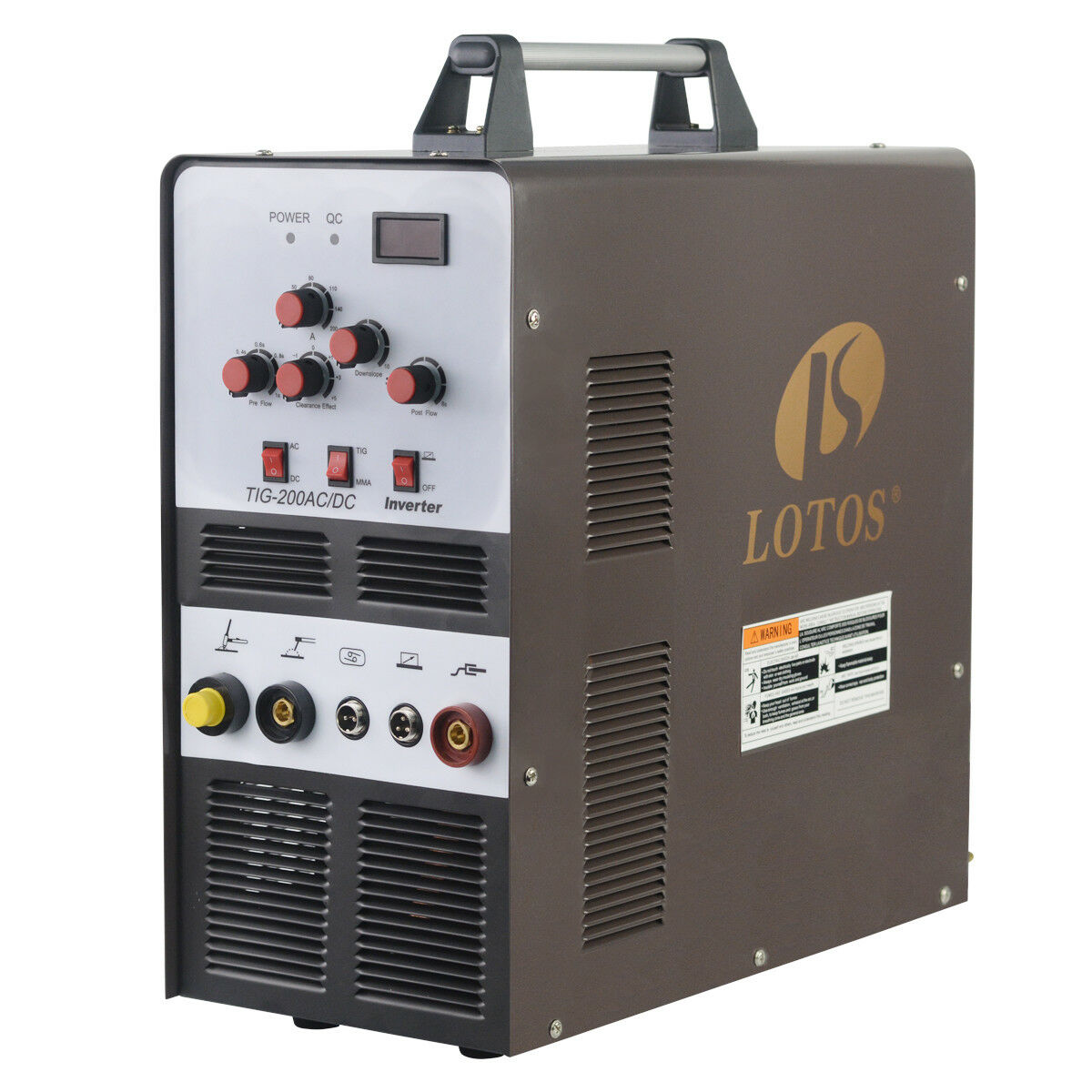 TIG/Stick Square Wave Inverter AC/DC Aluminum 200A Lotos TIG200 Welder Brand New. Buy it now for 559.00