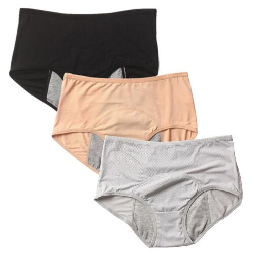 Women/'s Menstrual Underpants Leak Proof Period Panties Mesh Breathable Knickers