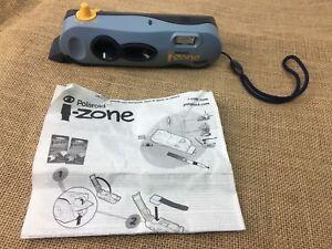 Polaroid-i-Zone-Instant-Pocket-Camera-Print-Mini-Photo-Stickers-Blue