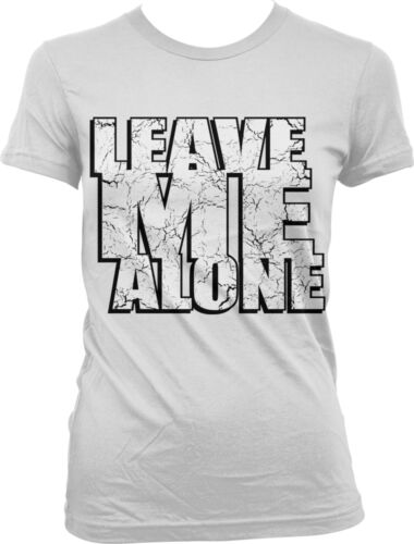 Don/'t Bother Me Funny Sayings Juniors T-shirt Leave Me Alone