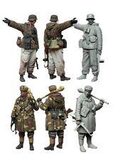 Kit de Figuras 1/35 Escala Modelo de Resina Segunda Guerra Mundial soldados alemanes