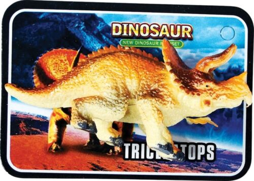 Plastica in Miniatura Dinosauro FIGURINA Toy /& fatto Carta Festa Bottino Borsa Giocattoli Filler