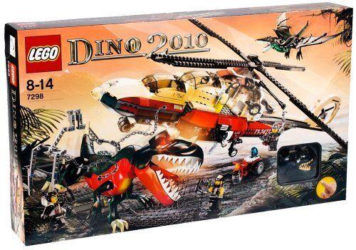 LEGO  ® Dino 2010 7298 Dino squadra Elicottero NUOVO SIGILLATO Rarità  Spedizione gratuita per tutti gli ordini