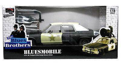 BLUES BROTHERS Modellino Auto BLUESMOBILE Jake Elwood 1//64 Greenlight MODEL CAR