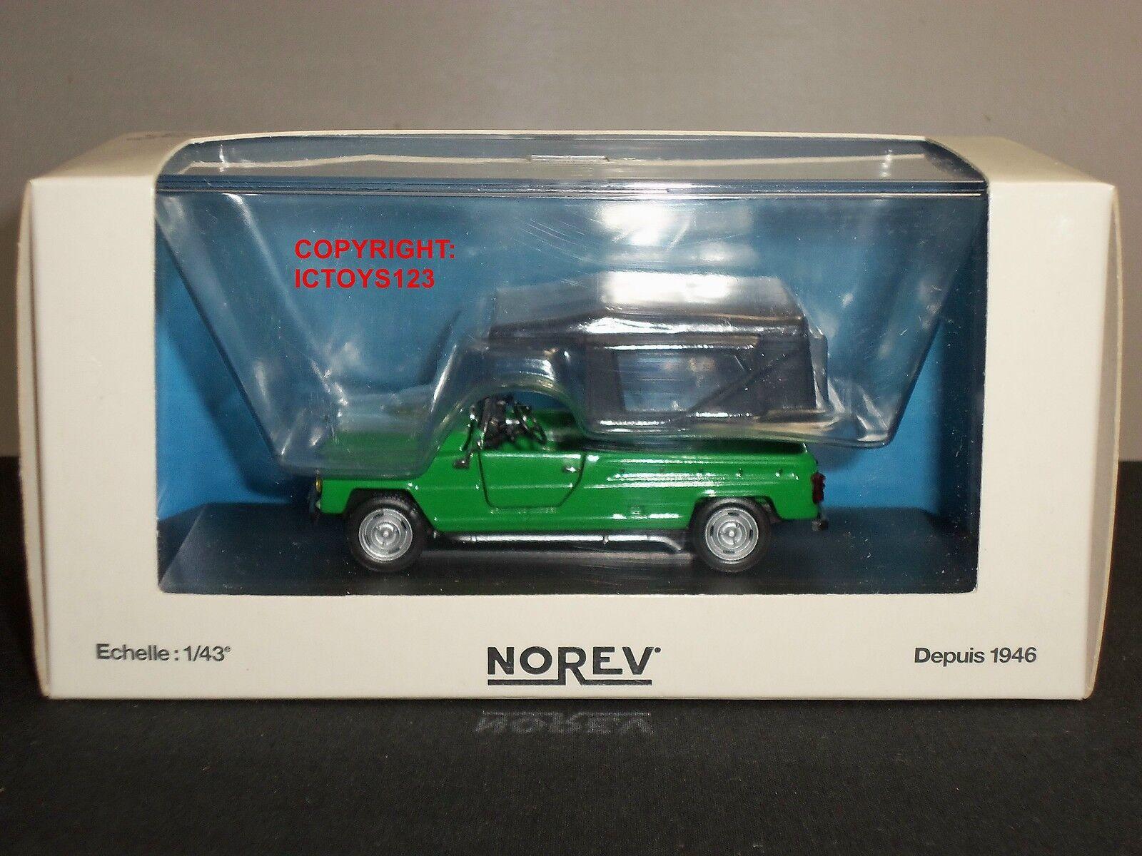 NOREV 510950 510950 510950 RENAULT RODEO GREEN DIECAST MODEL CAR 84895c