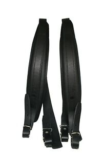 Hochwertig-6cm-Akkordeon-Schulterriemen-80-120-Bass-Akkordeongurte-Leder