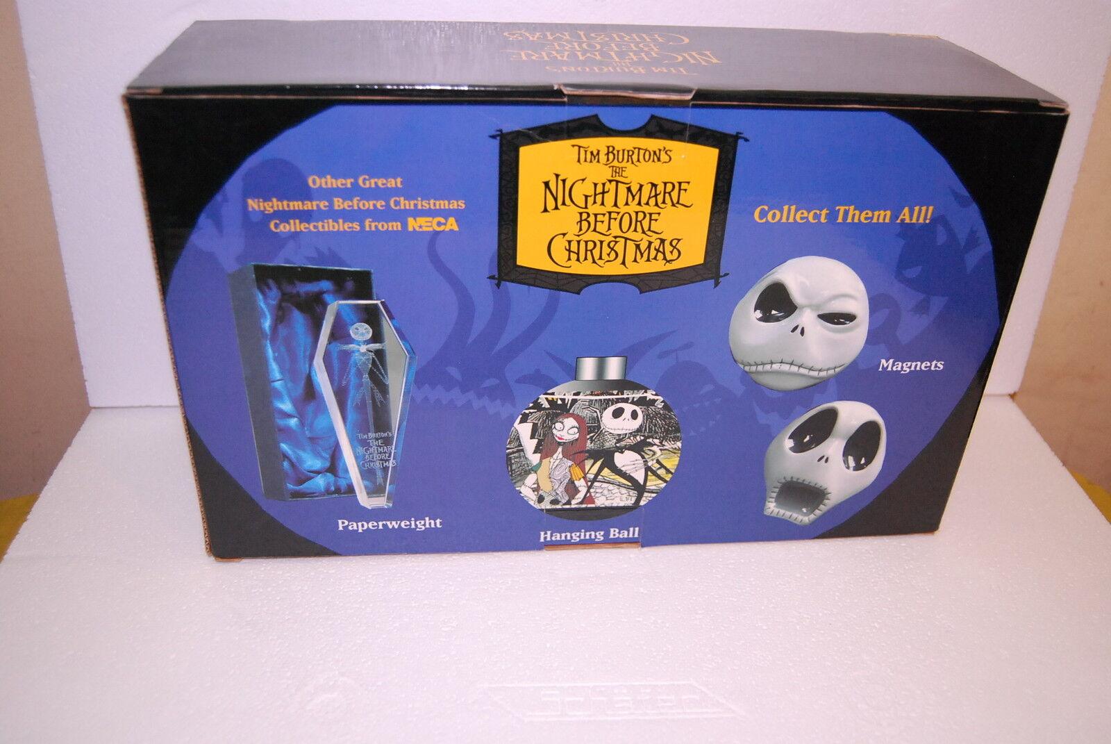 NECA TIM BURTON'S THE NIGHTMARE BEFORE CHRISTMAS MINI BOBBING HEADS RESINE