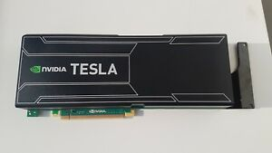 Tesla-nVidia-K20X-GPU-tarjeta-6GB-OEM-Dell-IBM-HP-sin-Cable-de-alimentacion-sin-Soporte