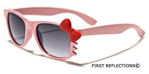 Hello Kitty Kids BABY TODDLER Girls Boy Sunglasses Black White Pink Cute Glasses