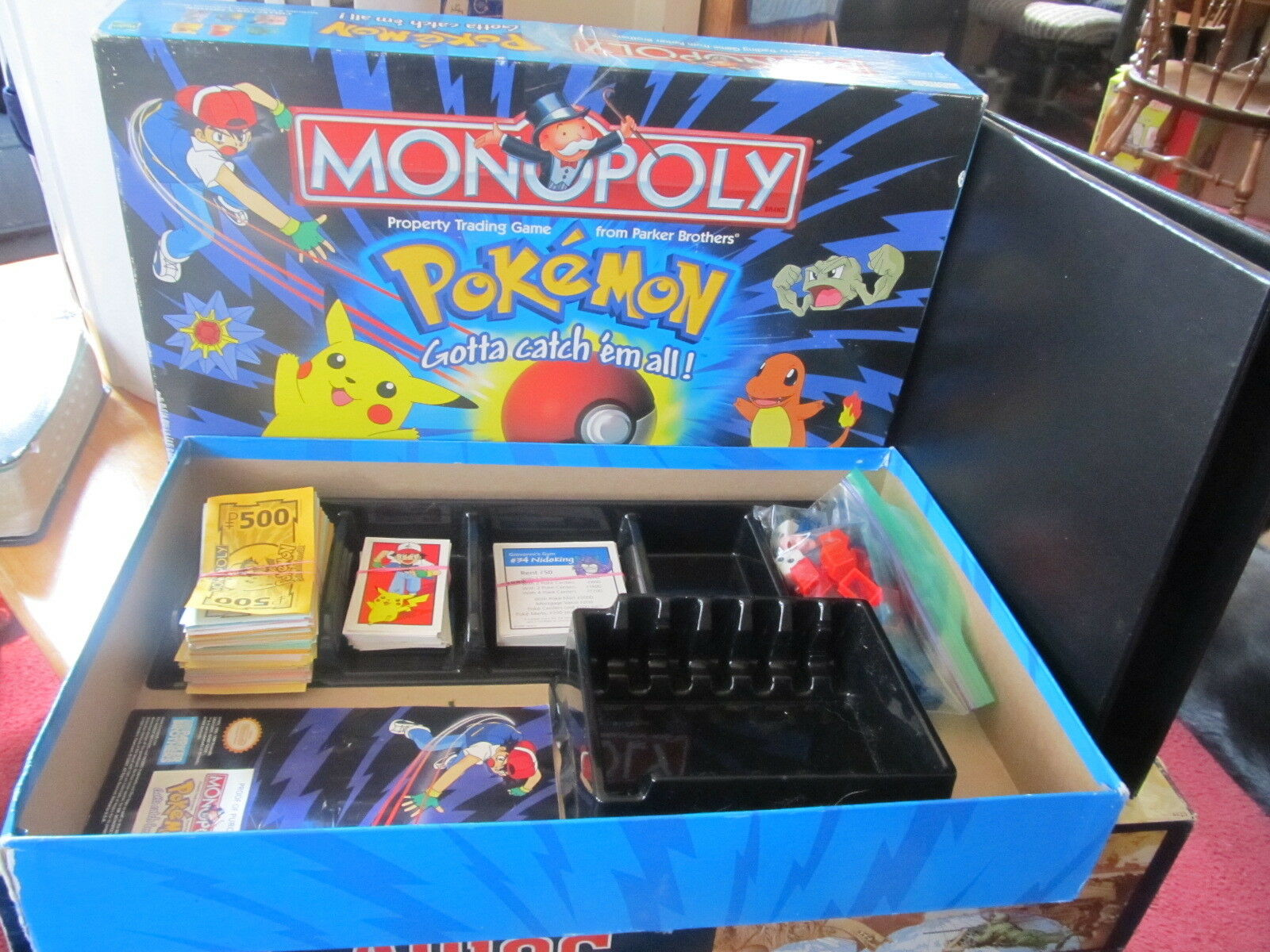 Monopoly Pokemon Edition Collector complet hasbro