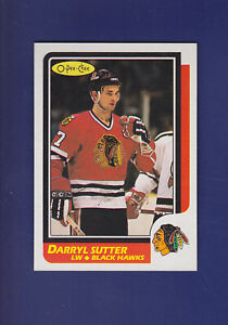 Darryl-Sutter-1986-87-O-PEE-CHEE-Hockey-49-MINT-Chicago-Blackhawks