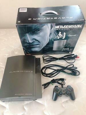 Playstation3 Ps3 Metal Gear Solid 4 Guns Of The Patriots Hagane From Japan Ebay