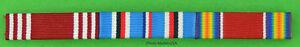 3-Ribbon-Bar-Army-American-Theater-World-War-Two-WWII-clutch-back-WW2