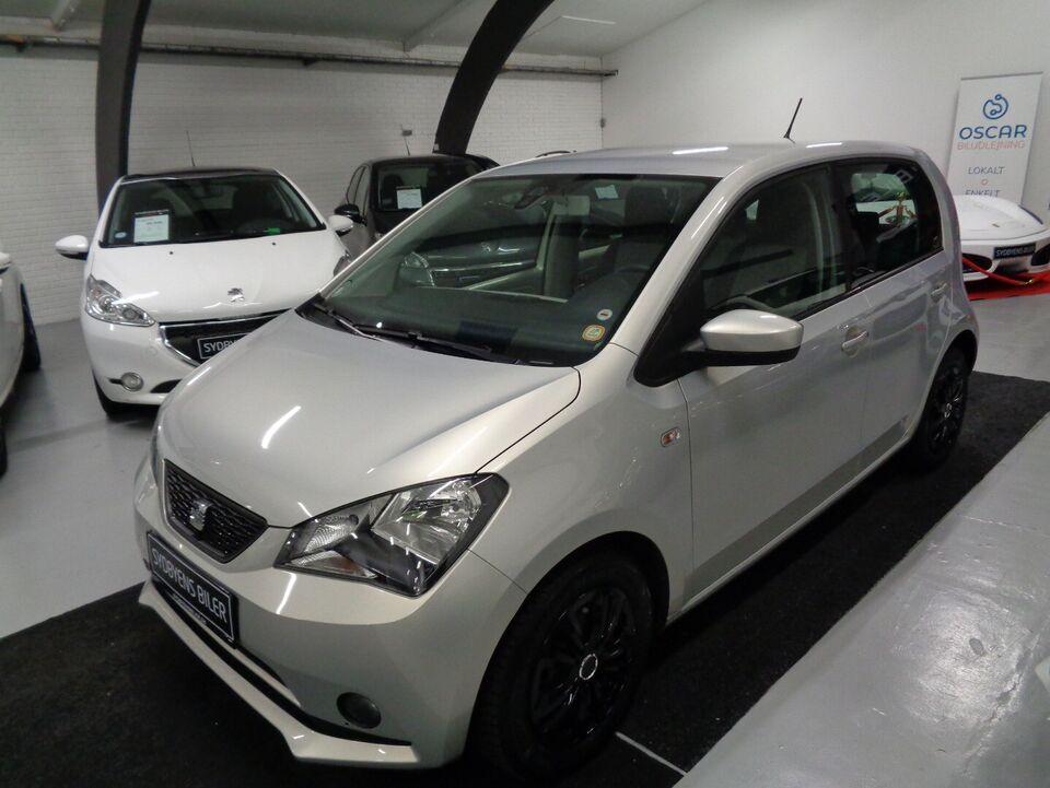 Seat Mii 1,0 60 Style eco Benzin modelår 2013 km 112000 Grå