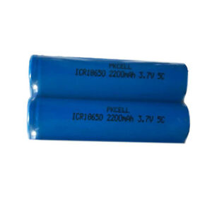 2-18650-Li-ion-High-Drain-Rechargeable-Vape-Mod-Batteries-2200mAh-3-7V-Flat-Top