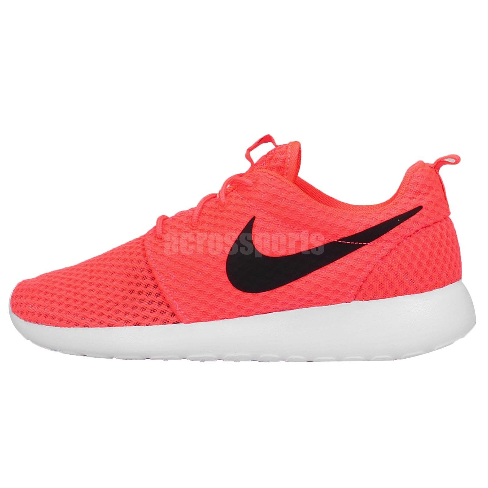 f4a05fa31d29 30%OFF Nike Roshe One BR Breathe Rosherun Red Black NSW Mens Running Shoes  Sneakers