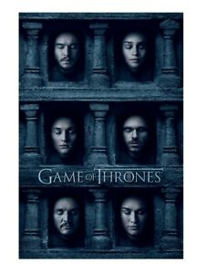 Game of Thrones Hall of Faces 61cm X 91cm Large Wall Poster 212 UK