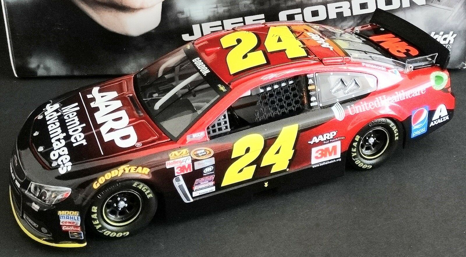 Jeff Gordon  24 Aarp Miembro Advantages 1 24 Action Action Action 2015 Chevy Ss 528 1525 9236b4