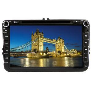 UK-8-034-Car-Stereo-DVD-Player-Radio-GPS-Sat-Nav-for-VW-Golf-MK5-MK6-Skoda-Seat-EOS