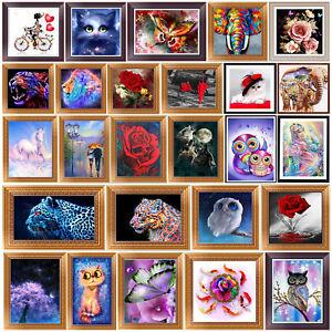 Animal-Flowers-DIY-5D-Diamond-Embroidery-Painting-Cross-Stitch-Crafts-Home-Decor