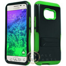 Samsung Galaxy S6 Infuse Prime Case Neon Green Cover Shell Shield Protector
