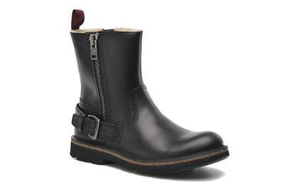 Stiefel Gut Clarks & Norton Mens ** Mellor Zip Herrenschuhe Black Warm ** Uk 7,7.5,8,8.5,9,9.5,10,11 G